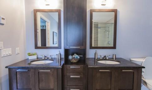 Gallery granit concept - Salle de bain style antique ...